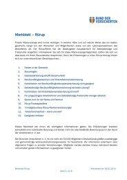 Merkblatt – Rürup - Bund der Versicherten e.V.