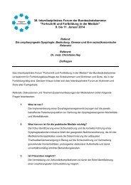 Zielfragen zum Referat: Die oropharyngeale Dysphagie: Bedeutung ...