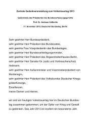 Die Rede des Bundesverfassungsgerichtspräsidenten - Deutscher ...