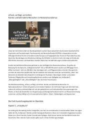 Die fünf Ausstellungskapitel im Überblick - Deutscher Bundestag