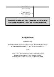 Bundesverband der Arzneimittel-Hersteller e. V. (BAH) - Deutscher ...
