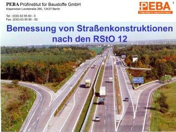4. RStO 12 - Neuerungen