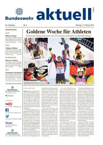 Goldene Woche für Athleten - Bundeswehr