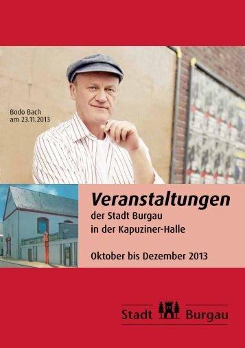 Veranstaltungen - Stadt Burgau