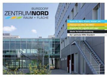 Broschüre ZentrumNord als Download - Burgdorf