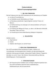 Förderrichtlinien Referat Frauenangelegenheiten - Burgenland.at
