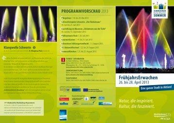 Flyer FrühjahrsErwachen - Business-On