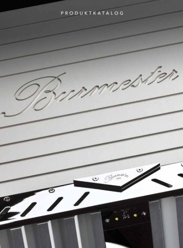 Burmester Online Katalog - Burmester Audiosysteme GmbH