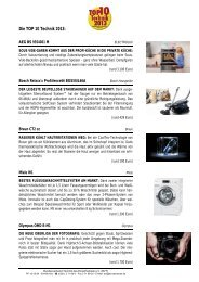 Die TOP 10 Technik 2013: - BVT