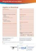 Infobogen Schülerausschreibung AFE 2012/2013 - Baden ... - Page 2