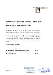 detaillierter Beschreibung - Baden-Württemberg Stiftung