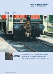 OIL-EX® Absorptionsmatte - Calenberg Ingenieure