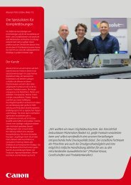 Case Study Absolut-Print GmbH, Wien 15 [PDF, 2 MB] - Canon