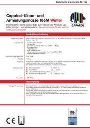 Technische Information Nr. 186M Winter - Caparol