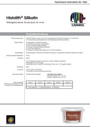 Technische Information Nr. 1053 - Caparol