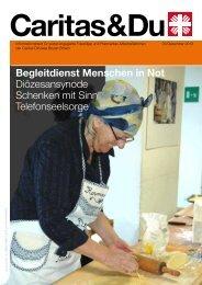 Begleitdienst Menschen in Not Diözesansynode Schenken ... - Caritas