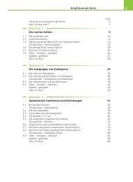 3 Inhaltsverzeichnis Kapitel 1 Kapitel 2 Kapitel 3