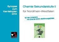 Synopse zum Kernlehrplan NRW 2014 - C.C. Buchner