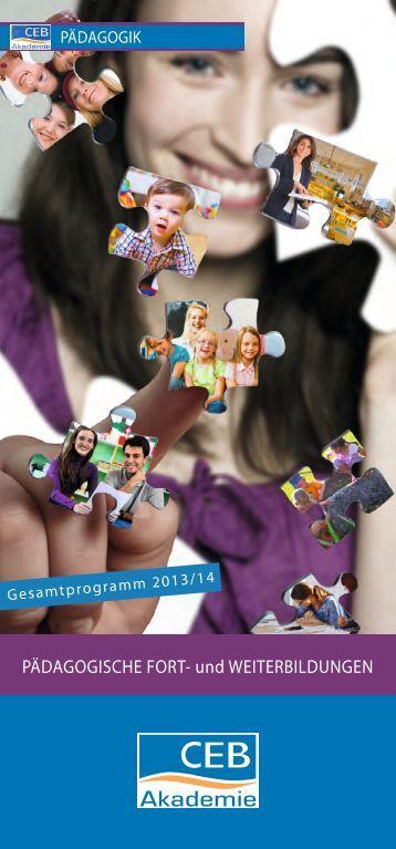 päd_neu Juli 2013.indd - CEB Christliche Erwachsenenbildung ...