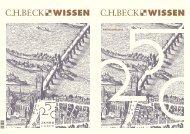 Wissen 1-13.indd - C.H. Beck