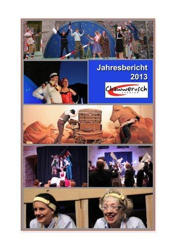 Jahresbericht 2013 - Chawwerusch Theater