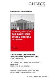 Das politische System der USA - C.H. Beck