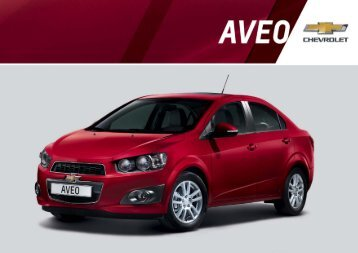 Download Aveo Limousine Katalog - Chevrolet