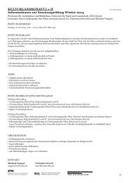 Informations Exam of Session WS14 (rev_23.12.13) - professur für ...