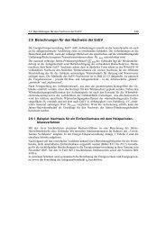 2.9 Berechnungen für den Nachweis der EnEV - Christiani