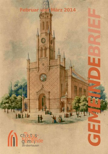 Februar und März 2014 - Christuskirche Oberhausen