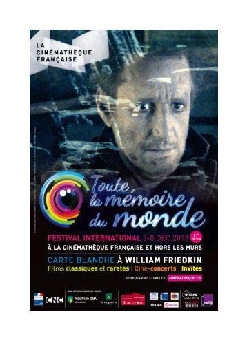 ENGLISH DOSSIER DE PRESSE TMM - La Cinémathèque française