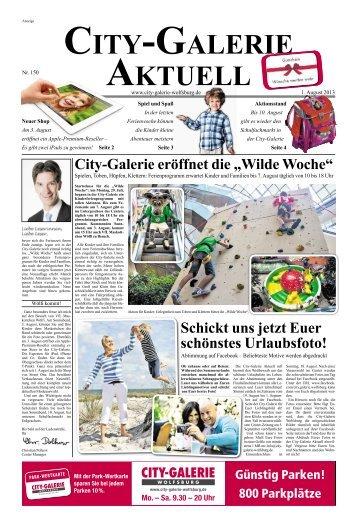 Center Zeitung - City Galerie, Wolfsburg