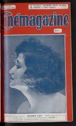 Cinémagazine 1922 n°44, 03/11/1922 - Ciné-ressources