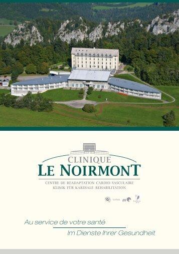 Übersichtsbroschüre - Clinique le Noirmont