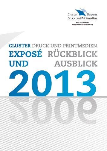EXPOSÉ RÜCKBLICK UND AUSBLICK - Cluster Druck und ...