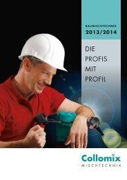 Baumischtechnik 2013/2014 - Collomix