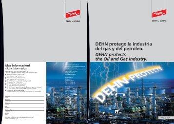 DEHN protege la industria del gas y del petróleo.
