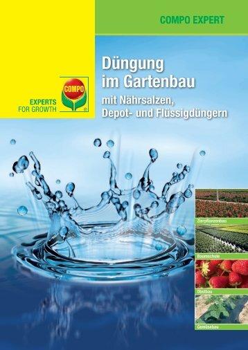 Düngung im Gartenbau - COMPO EXPERT