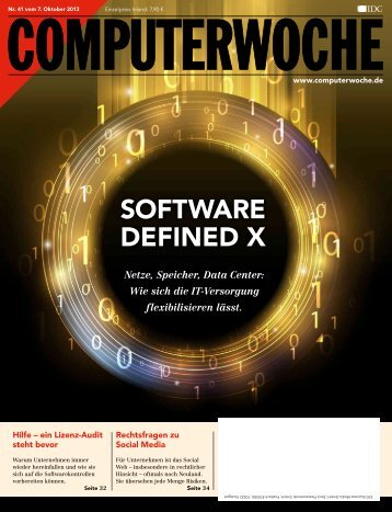 SOFTWARE DEFINED X - Computerwoche