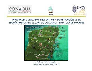 (pmpms) en el consejo de cuenca península de yucatán
