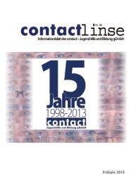 Gemeinsam stark für jeden Einzelnen - contact GmbH