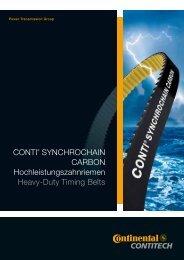 CONTI® SYNCHROCHAIN CARBON ... - ContiTech AG