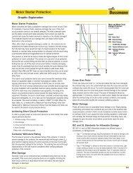 Motor Starter Protection - Cooper Industries