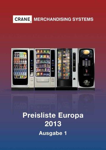 Preisliste Europa 2013 - Crane GmbH