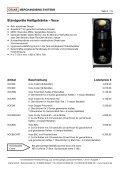 Preisliste Europa 2013 - Crane GmbH - Seite 6