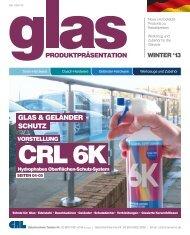 gLAs & geLÄnDeR sCHutZ - bei CRL