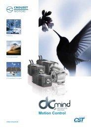 Getriebe Motoren DCmind Brushless TNi21 - Crouzet