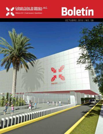 octubre 2013 | no. 58 - Colegio Suizo de México