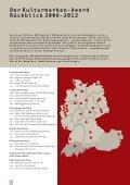Kulturmarken-Award 2013 Ausschreibung - Seite 6