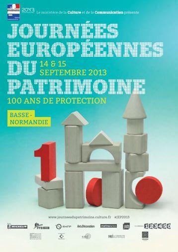 14 & 15 septembre 2013 100 ans de protection - Ministère de la ...